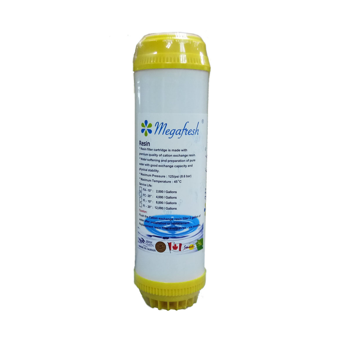 Fa Resin Megafresh Water Filtration And Purifier